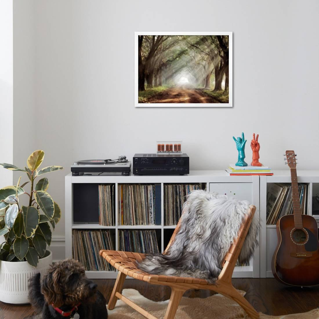 Evergreen Plantation Framed Print Wall Art By Mike Jones - Walmart.com