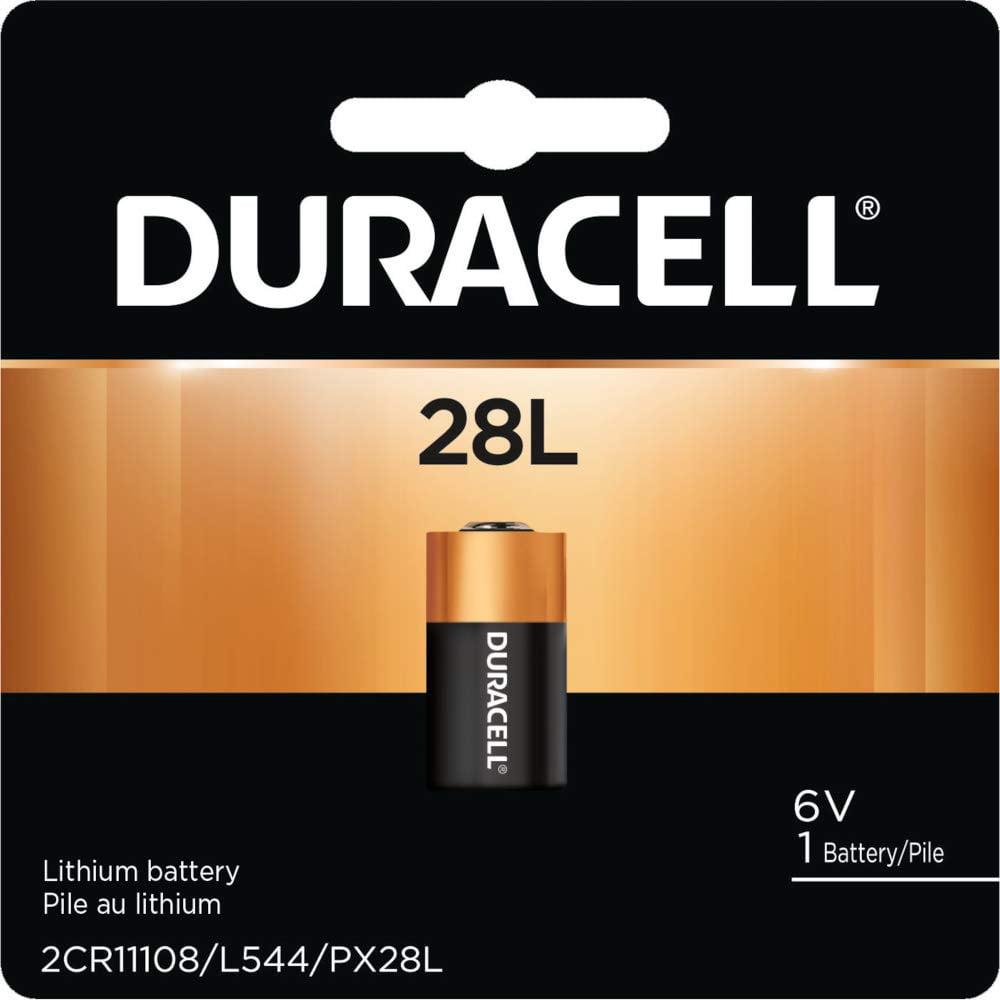 Duracell Lithium Batterie 28L 6V PX28L//2CR-1//3N
