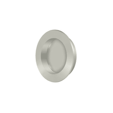 Deltana FP238 2 1 2 Diameter Pocket Door Flush Pull