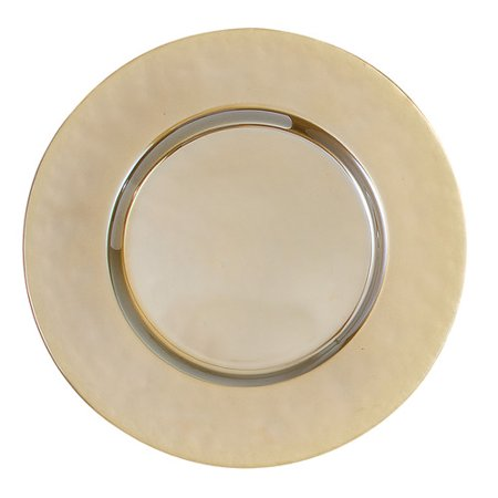 Elegance by Leeber 13'' Luster Charger Plate (Set of - Rose Gold Charger Plate