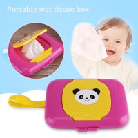 HURRISE Baby Infant Outdoor Travel Stroller Wet Wipes Box Tissue Case Dispenser , Wet tissue box, Baby wet tissue box
