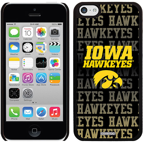 Iowa Repeating Design on iPhone 5c Thinshield Snap-On Case by Coveroo