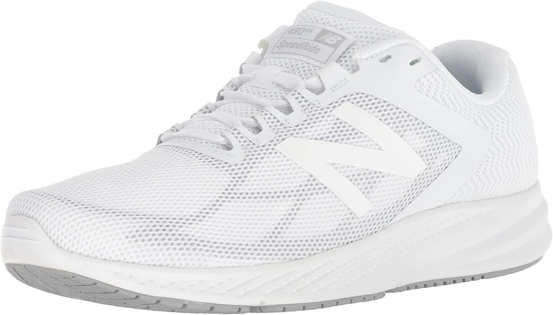 490v6 Cushioning Running Shoe, White
