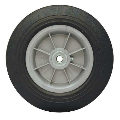 ALBION 648.213.1530G Solid Rubber Wheel, 8 In, 500 lb