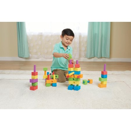 Action Building Set - Spark. Create. Imagine. Foam Peg Building Block Toy Play Set, 100 Pieces