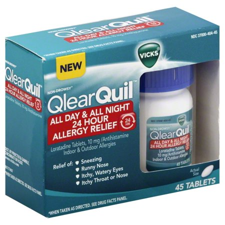 P & G Vicks QlearQuil Allergy Relief, 45 ea