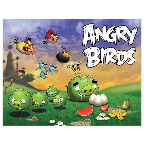 Angry Birds Pigs Going After Eggs Puzzle [24 pieces]