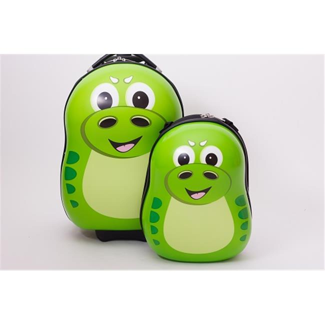 The Cuties and Pals DNS1000 P-REX the Dinosaur Luggage Set