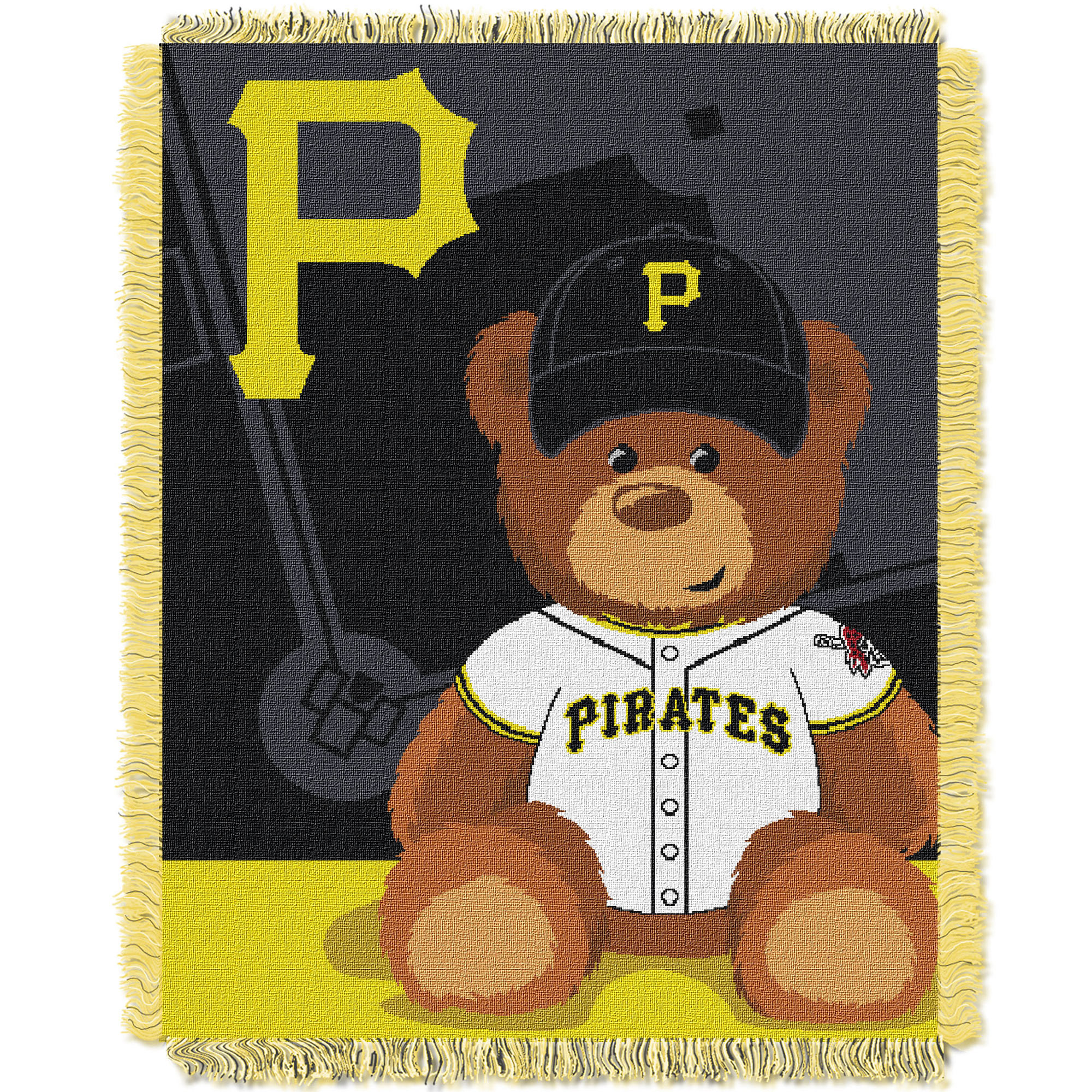 Pittsburgh Pirates The Northwest Company 36'' x 46'' Baby Jaquard Throw - No Size
