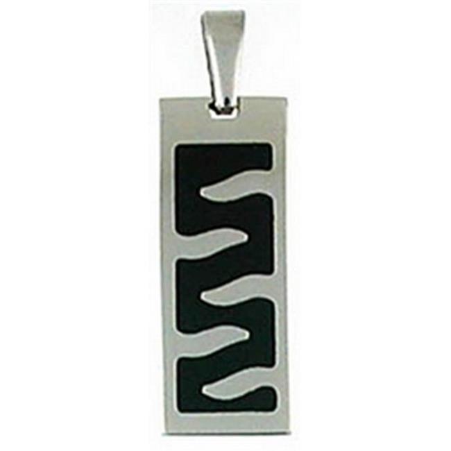 Doma Jewellery DJS01006 Stainless Steel Bar Pendant