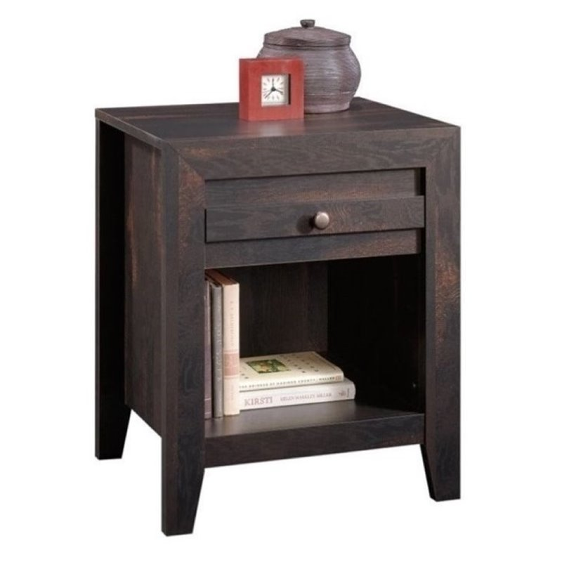 Bowery Hill Nightstand in Char Pine