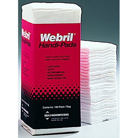 Webril Cotton Beauty Skin Care Pads 4