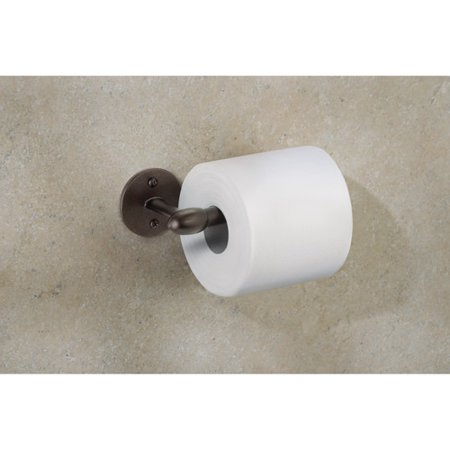 InterDesign Orbinni Wall Mount Toilet Tissue Holder, Bronze