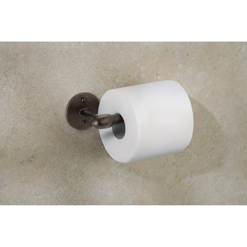 InterDesign Orbinni Wall Mount Toilet Tissue Holder, Bronze