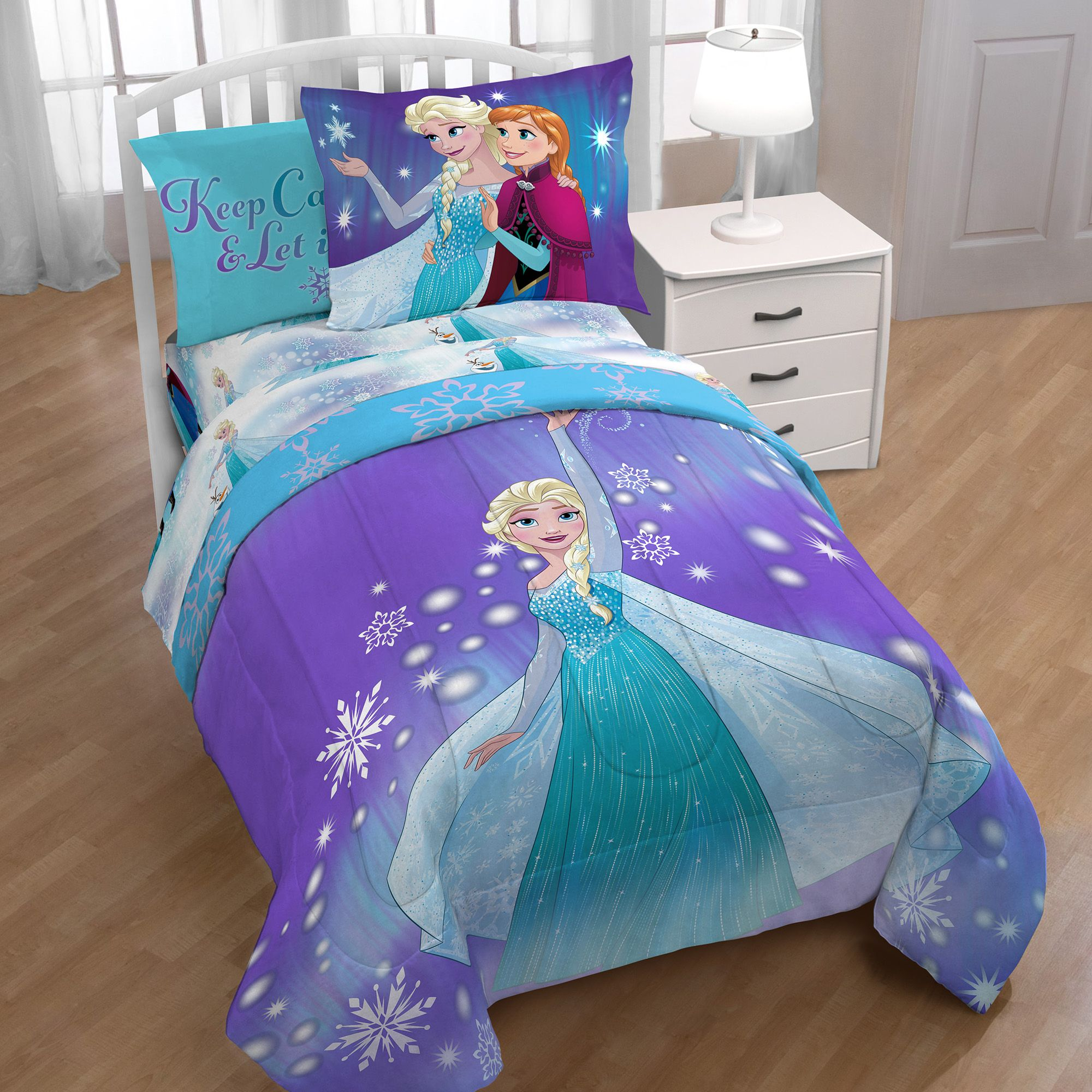 Disney Frozen Magical Winter Full Bed In A Bag - Walmart ...