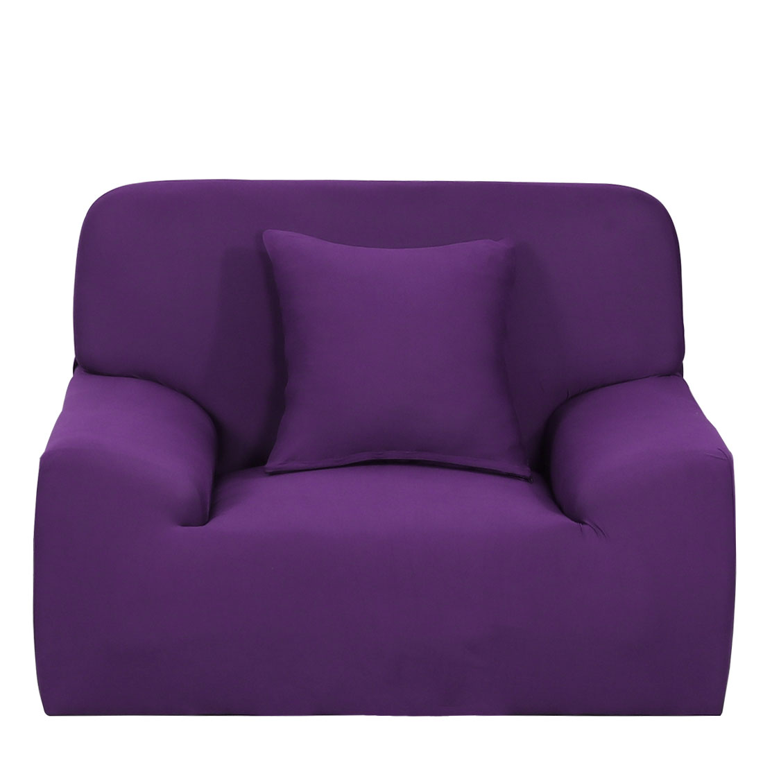 Stretch 1/2/3 Seats Chair Loveseat Couch Cover Sofa Slipcovers Purple