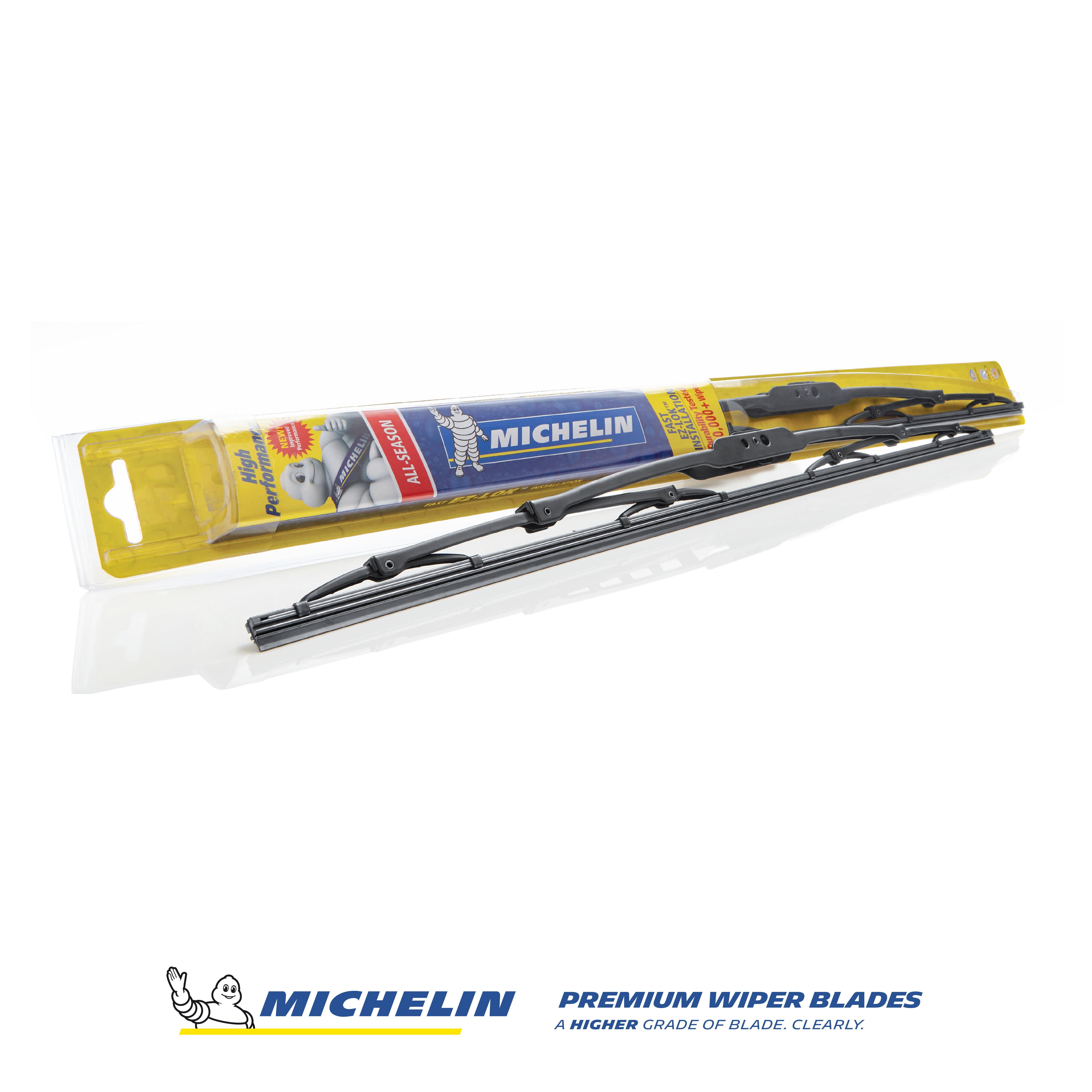 San Auto Windshield Wiper Blade Replacement 26+16 U Shape Universal Fit All-Season Front Rear Car Rain Wipers Windscreen 2 Packs