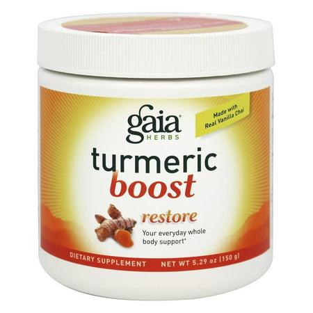 Gaia Herbs Turmeric Boost, Powder, 5.29 oz Brahmi Herb Powder