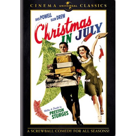 Christmas In July (DVD) ()