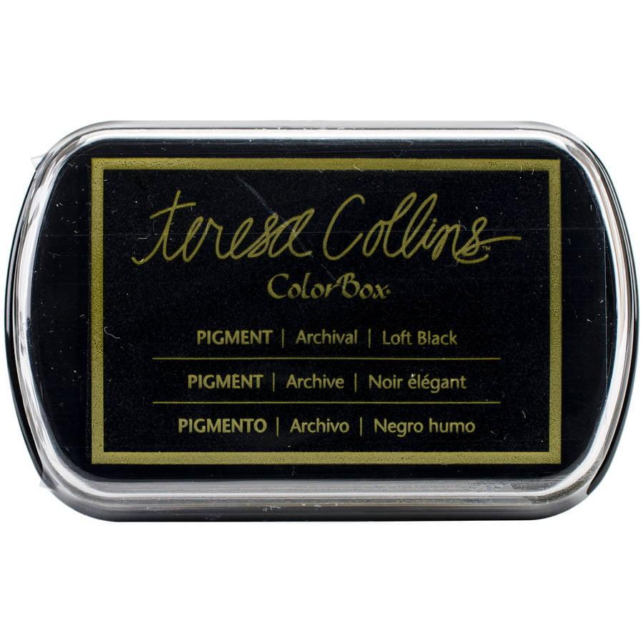 Teresa Collins Pigment Ink Pad-Loft Black