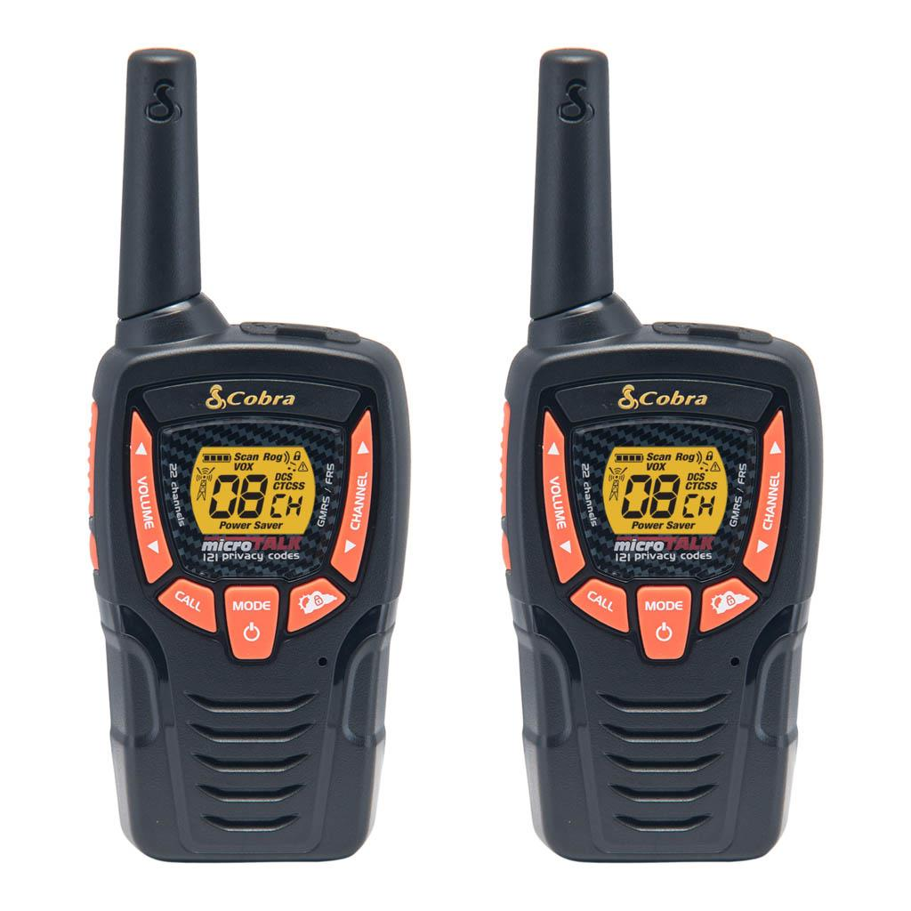 Cobra Cxt385 23-Mile 2-Way Radios Walkie Talkies, 2-Pack by Cobra