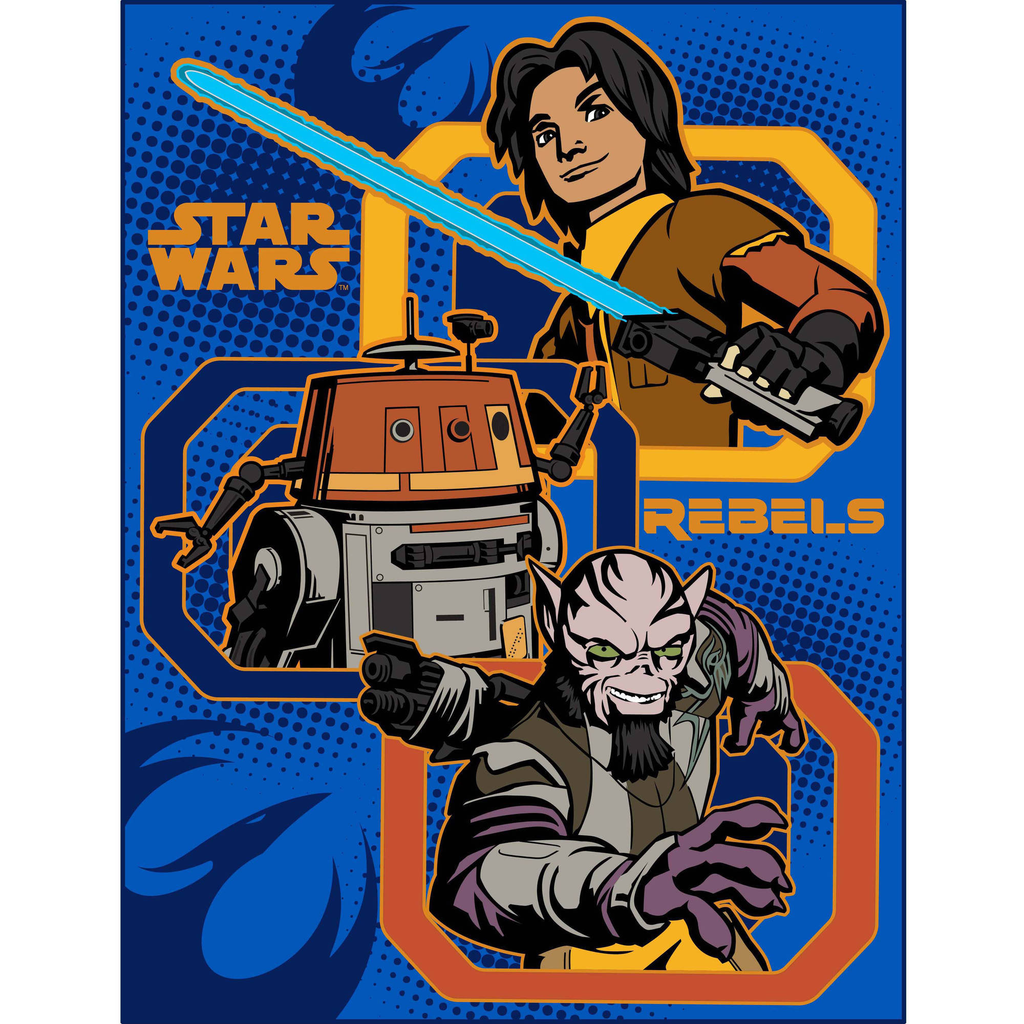 "Star Wars Rebels 46"" x 60"" Throw"