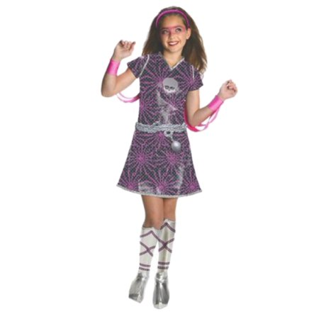 Monster High Power Ghouls Girls Spectra Vondergeist Costume Sequin Outfit Medium - Spectra Monster High Costume