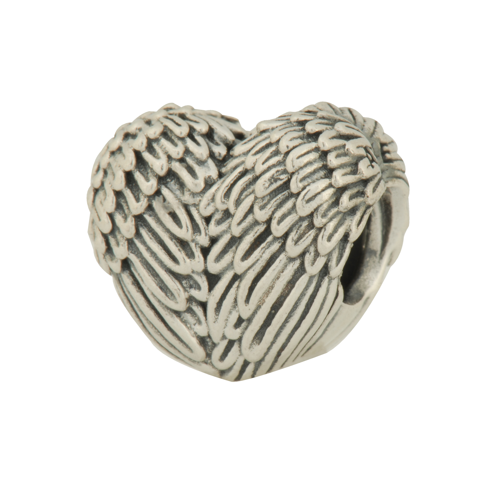 Authentic PANDORA Angelic Feathers Charm in 925 Sterling ...