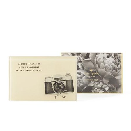 kate spade new york 4 x 6 Snapshot Acrylic Desk Frame - Cream ...