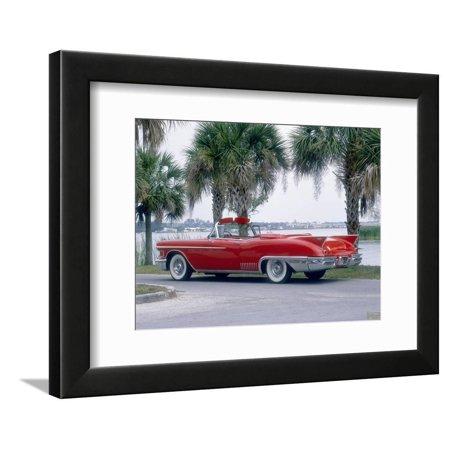 1958 Cadillac Eldorado Biarritz Framed Print Wall (1958 Cadillac Eldorado Biarritz Convertible For Sale)