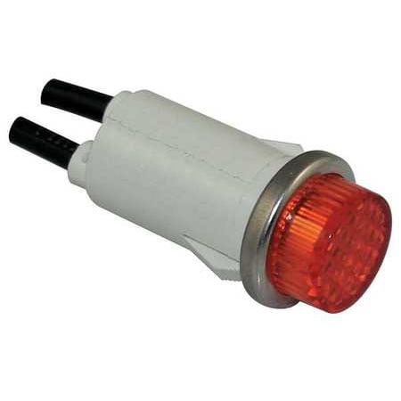 - DAYTON 22NY53 Raised Indicator Light,Amber,120V