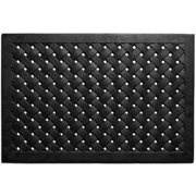 Momentum Mats Natural Rubber 24x36-inch Hampton Weave Door Mat