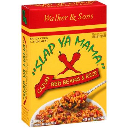 Slap Ya Mama Cajun Red Beans   Rice  8 Oz