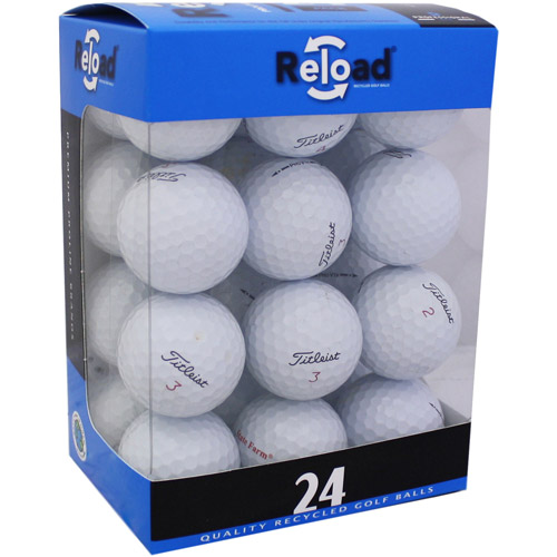 Reload Recycled Golf Balls 24pk Recycled PRO V1X 2010 Golf Balls