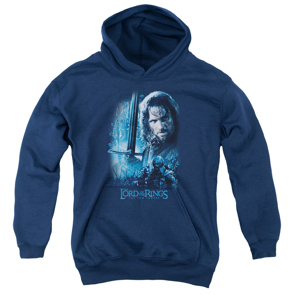 The Lord of the Rings King In The Making Big Boys Pullover Hoodie