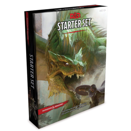 Dungeons & Dragons: Dungeons & Dragons Starter Set (Game)