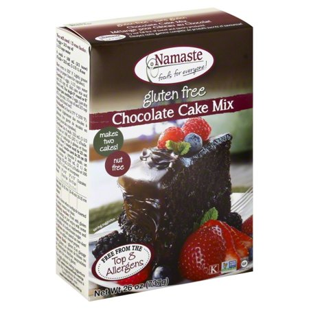 Namaste Foods, Gluten Free Chocolate Cake Mix, 26-Ounce Bags for $<!---->