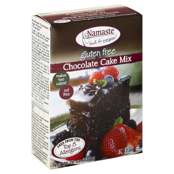 Namaste Foods, Gluten Free Chocolate Cake Mix, 26-Ounce Bags