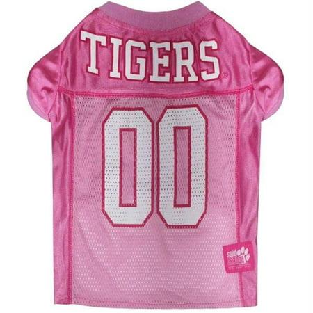Clemson Tigers Pink Dog Jersey