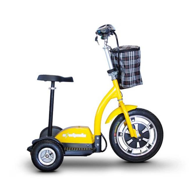 JHR Electric Transport EW-18 Y Stand And Ride Scooter - Yellow