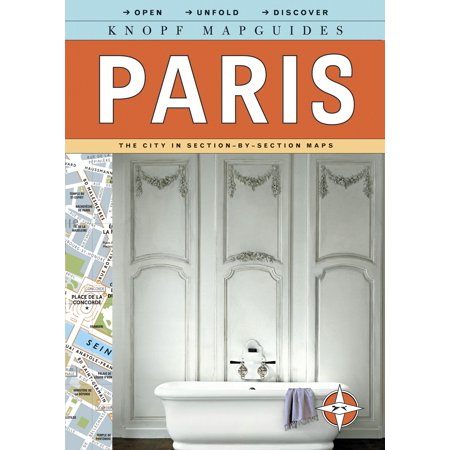 Knopf mapguides: paris : the city in section-by-section maps: 9780307263889 (Maps Paris)