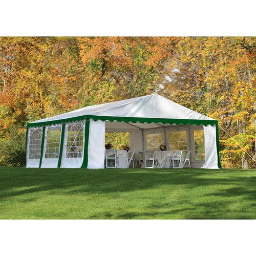 Party Tent & Enclosure Kit, 20' x 20'/6m x 6mm White