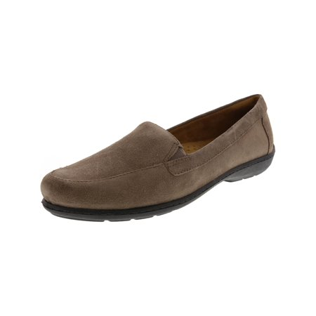 Naturalizer Women's Kacy Suede Taupe Loafer - -