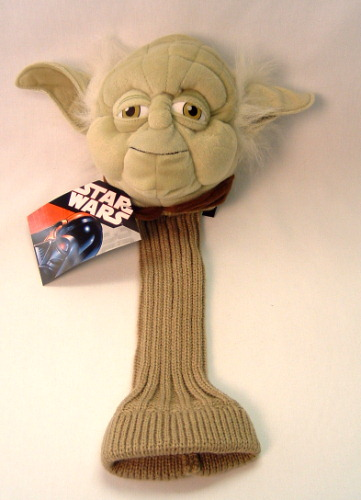 Star Wars Golf Club Cover Yoda by Comic Images