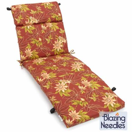 Blazing Needles  72-inch All-weather Outdoor Chaise Lounge (72 Inch Lounger)