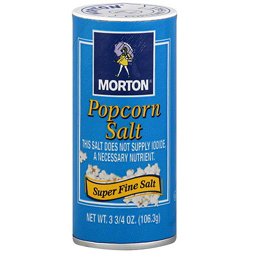 Morton Popcorn Salt, 3.75 oz (Pack of 12)