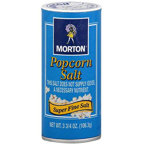 Morton Popcorn Salt, 3.75 oz (Pack of 12)