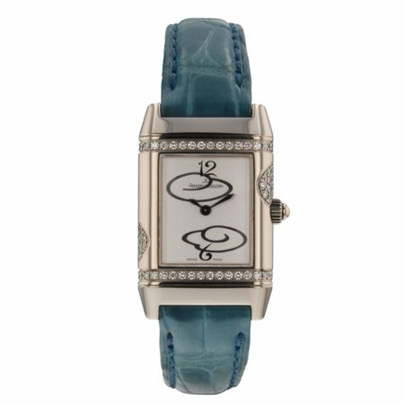 Pre-Owned Jaeger Lecoultre Reverso 265.34.0 Gold Women Watch (Certified Authentic & (Jaeger Lecoultre Ladies)