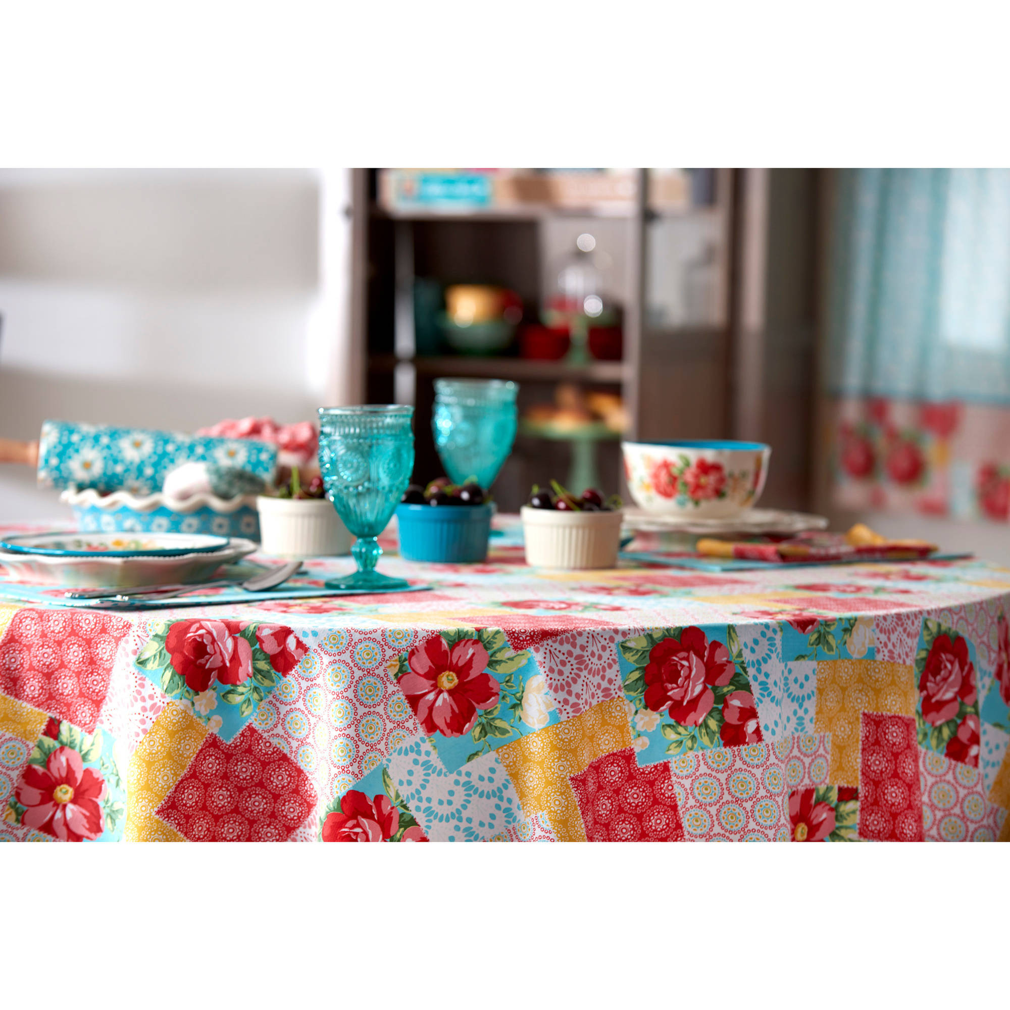 The Pioneer Woman Patchwork Tablecloth, Available In Multiple Sizes    Walmart.com
