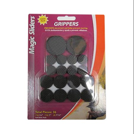 Magic Value Pack (Grippers Surface Protectors Value Pack, Adhesive, 36 Pc., Magic Sliders,)